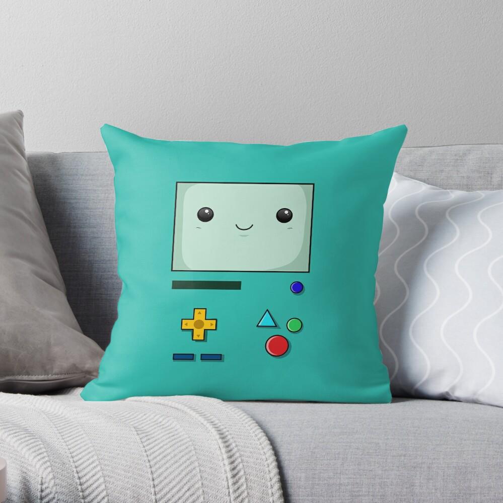 BEEMO BOX Throw Pillow