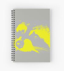 Richie in Grey and Yellow | Stanleigh and Friends Spiral Notebook
