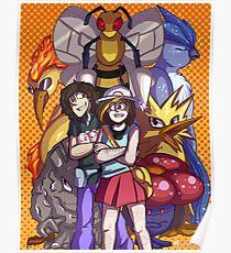 Game Grumps Elite Four Poster