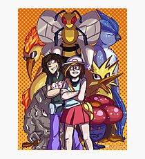 Game Grumps Elite Four Photographic Print