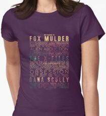 The X-Files Revival - Light Women's Fitted T-Shirt
