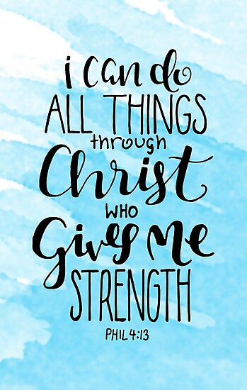 Image result for i can do everything through christ