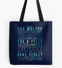 The X-Files Revival - Blue Tote Bag