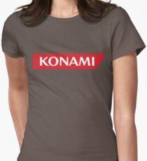 Konami Womens Fitted T-Shirt
