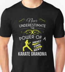 Never Underestimate Power Of  Karate Grandma Unisex T-Shirt