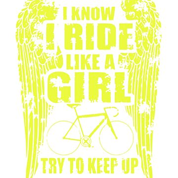Ride like a girl by newawesometee