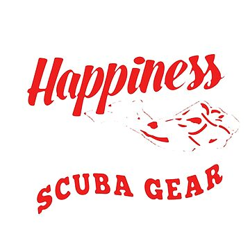 Scuba Diver Happiness by newawesometee