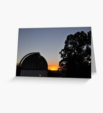 MBO Dome at Sunset Greeting Card