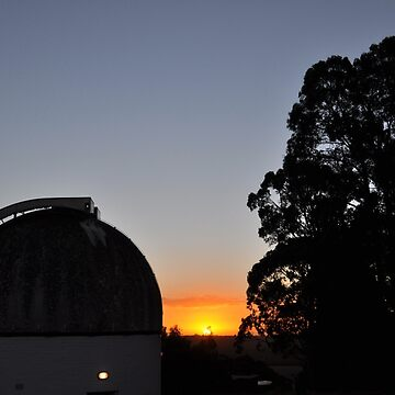 MBO Dome at Sunset by MBObservatory