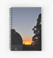 MBO Dome at Sunset Spiral Notebook