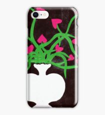 Valentines Heart Flowers iPhone Case/Skin