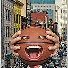 Basketball Head - In the City by JoelCortez