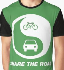 Share the Road Graphic T-Shirt