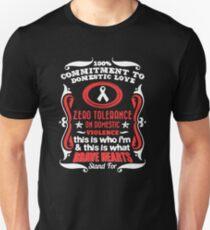ZERO TOLERANCE ON DOMESTIC VIOLENCE Unisex T-Shirt