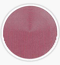optical 6 Sticker