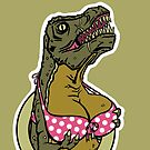 DINOSAURS WITH TITS - iPHONE by LJUDD