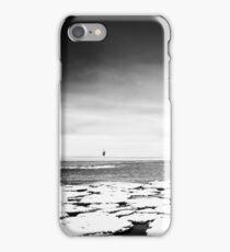 Beach Lubmin - Winter Study IV iPhone Case/Skin