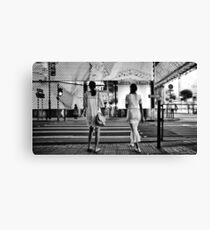 Two Kowloon Girls Canvas Print