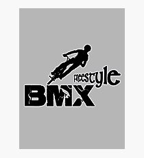 bmx, bmx freestyle Photographic Print