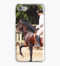 The Portuguese School of Equestrian Art iPhone Case/Skin