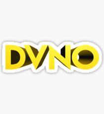 DVNO - Four Capital Letters Sticker