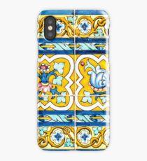 Azulejo - Floral Decoration iPhone Case