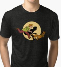 The Adventure of Scooby Tri-blend T-Shirt
