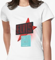 Elvis Motel Womens Fitted T-Shirt