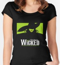 Wicked Broadway Musical - Untold Story about Wizard Of Oz - T-Shirt Women's Fitted Scoop T-Shirt