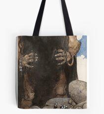 John Bauer, Storm giant, jordskakaren Tote Bag