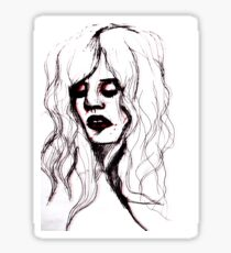 Kat Bjelland from Babes In Toyland  Sticker