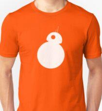 BB-8 - White Silhouette  T-Shirt