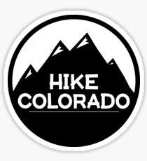 Hike Colorado Sticker