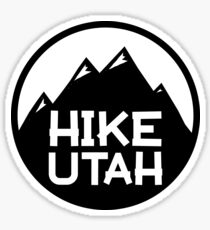 Hike Utah Sticker