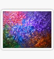 Rainbow Nebula Sticker