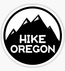 Hike Oregon Sticker