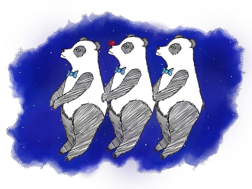 Panda Party! by yoliepolieollie