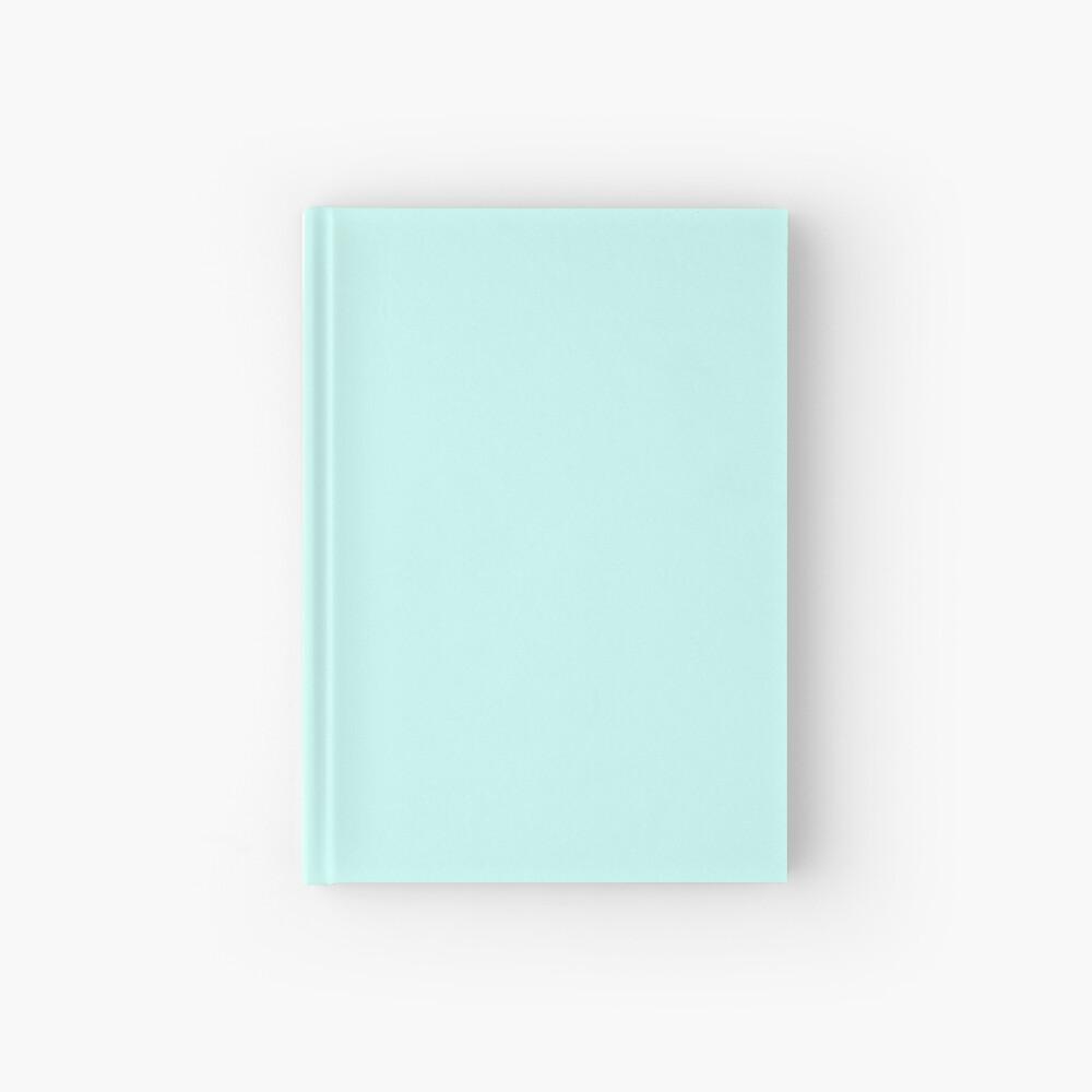 Cuaderno azul pastel Cuaderno de tapa dura