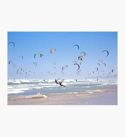 Kitesurfing Armada, Cape Town, South Africa Photographic Print