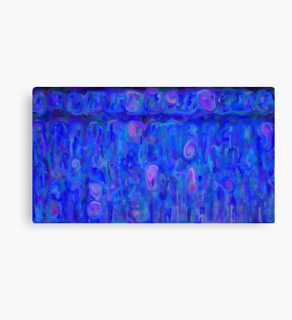 Mottle swirl Canvas Print