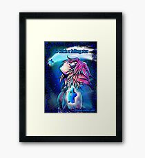 To catch a falling star  Framed Print