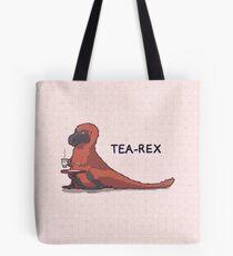 Fluffy Tea-Rex Tote Bag