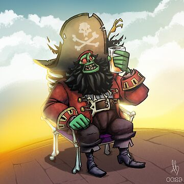 0029 - Bone Chair LeChuck by brownbair