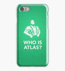 Bioshock: Who Is Atlas? iPhone Case/Skin
