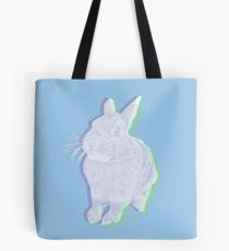Blue Bunny Tote Bag