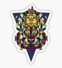 Goldener Tutanchamun Sticker