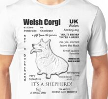 Corgi. FAQ. Unisex T-Shirt