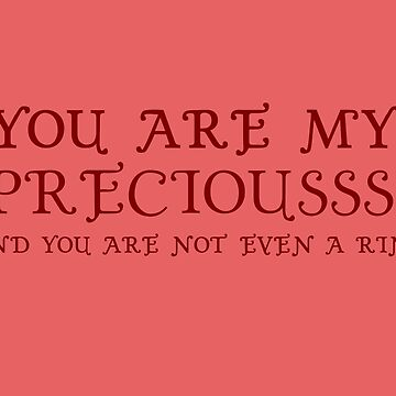 Nerd Valentines: My precious! by Adelidaw