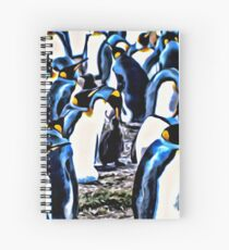 A Waddle of Penguins Spiral Notebook