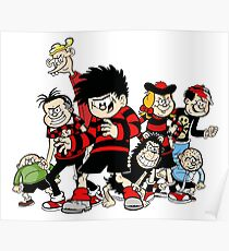 Dennis The Menace And Gang Poster